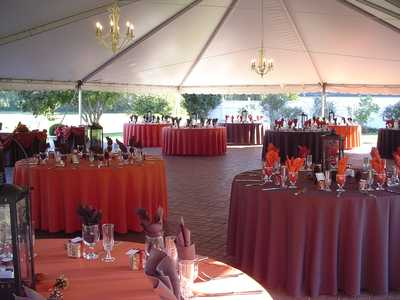 Orange Tables